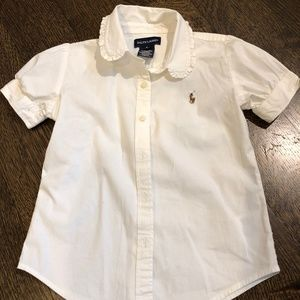 PERFECT RALPH LAUREN BLOUSE, GOES W EVERYTHING, 6
